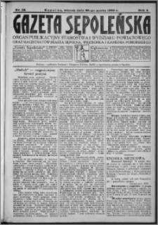 Gazeta Sępoleńska 1930, R. 4, nr 35