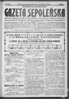 Gazeta Sępoleńska 1930, R. 4, nr 43