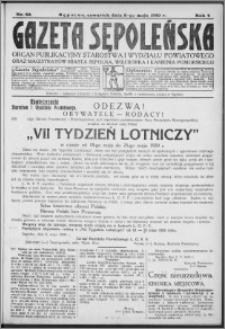 Gazeta Sępoleńska 1930, R. 4, nr 53