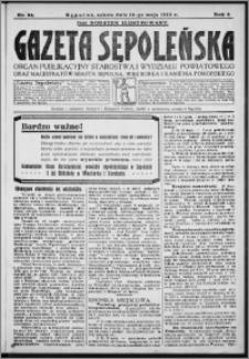 Gazeta Sępoleńska 1930, R. 4, nr 54