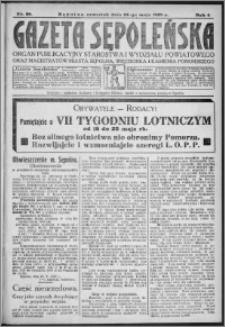 Gazeta Sępoleńska 1930, R. 4, nr 59