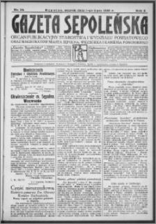 Gazeta Sępoleńska 1930, R. 4, nr 74