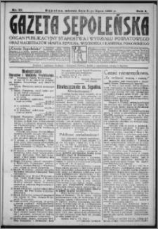 Gazeta Sępoleńska 1930, R. 4, nr 77