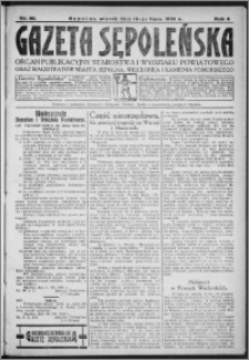 Gazeta Sępoleńska 1930, R. 4, nr 80