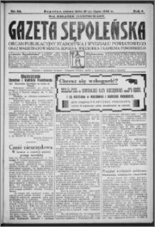 Gazeta Sępoleńska 1930, R. 4, nr 82