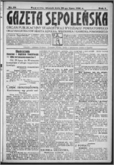 Gazeta Sępoleńska 1930, R. 4, nr 83