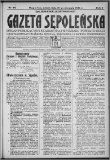 Gazeta Sępoleńska 1930, R. 4, nr 94
