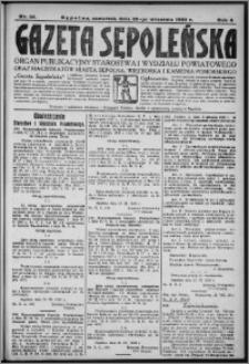 Gazeta Sępoleńska 1930, R. 4, nr 111