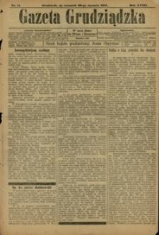 Gazeta Grudziądzka 1911.01.11 R.18 nr 26