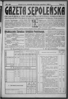 Gazeta Sępoleńska 1930, R. 4, nr 140