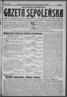 Gazeta Sępoleńska 1930, R. 4, nr 144