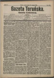 Gazeta Toruńska 1913, R. 49 nr 47