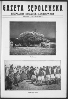Gazeta Sępoleńska. Bezpłatny Dodatek Ilustrowany, 20 lipca 1930 r.