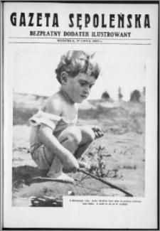 Gazeta Sępoleńska. Bezpłatny Dodatek Ilustrowany, 27 lipca 1930 r.