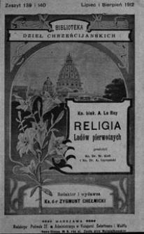 Religia ludów pierwotnych