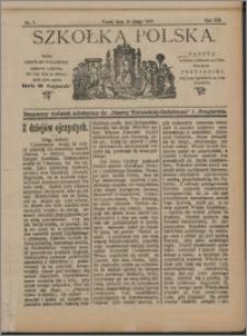 Szkółka Polska 1912 nr 3