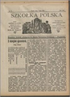 Szkółka Polska 1912 nr 9