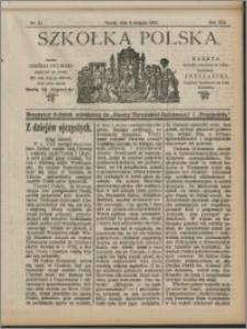 Szkółka Polska 1912 nr 11