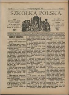 Szkółka Polska 1912 nr 17