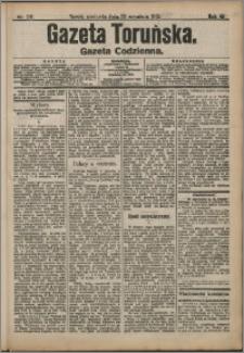 Gazeta Toruńska 1912, R. 48 nr 218 + dodatek