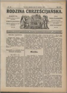 Rodzina Chrześciańska 1913 nr 38
