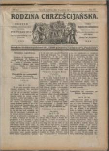Rodzina Chrześciańska 1913 nr 52