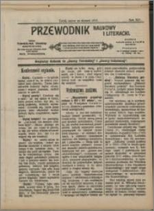 Przewodnik Naukowy i Literacki 1913, R. 14 numer na styczeń