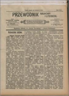 Przewodnik Naukowy i Literacki 1913, R. 14 numer na kwiecień