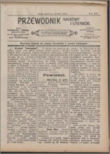 Przewodnik Naukowy i Literacki 1913, R. 14 numer na czerwiec