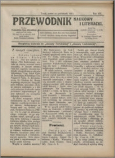 Przewodnik Naukowy i Literacki 1913, R. 14 numer na październik
