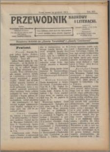 Przewodnik Naukowy i Literacki 1913, R. 14 numer na grudzień