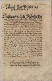 Cronica der Preussen