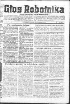 Głos Robotnika 1927, R. 8 nr 277