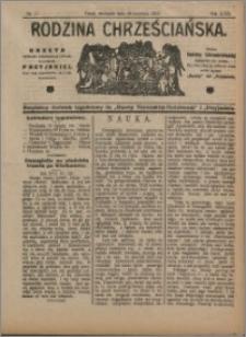 Rodzina Chrześciańska 1912 nr 17