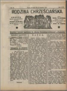 Rodzina Chrześciańska 1912 nr 38