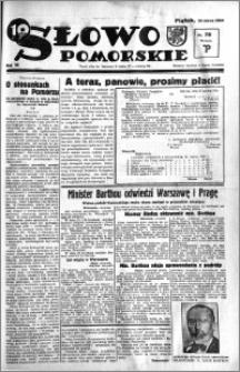 Słowo Pomorskie 1934.03.30 R.14 nr 73