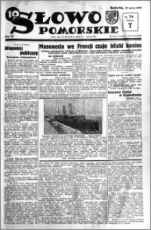 Słowo Pomorskie 1934.03.31 R.14 nr 74