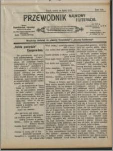 Przewodnik Naukowy i Literacki 1912, R. 13 numer na lipiec