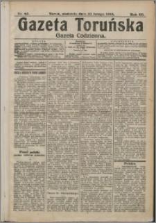 Gazeta Toruńska 1914, R. 50 nr 43 + dodatek