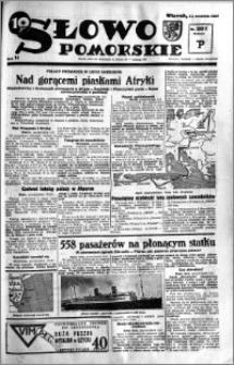 Słowo Pomorskie 1934.09.11 R.14 nr 207