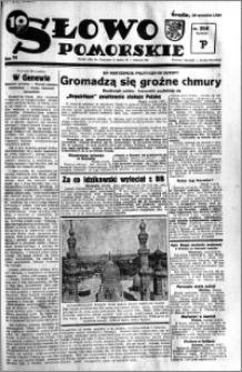 Słowo Pomorskie 1934.09.19 R.14 nr 214