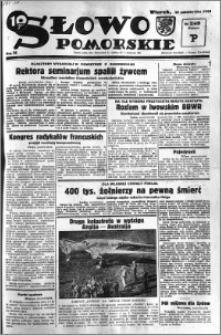 Słowo Pomorskie 1934.10.30 R.14 nr 249