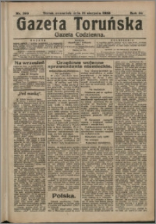 Gazeta Toruńska 1916, R. 52 nr 199