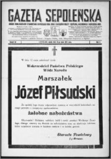 Gazeta Sępoleńska 1935, R. 9, nr 40