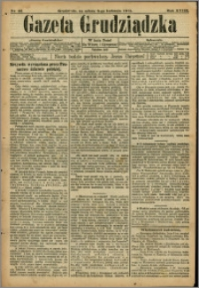 Gazeta Grudziądzka 1911.04.08 R.18 nr 42 + dodatek
