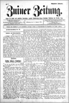 Zniner Zeitung 1905.01.11 R.18 nr 3