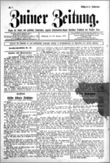 Zniner Zeitung 1905.01.18 R.18 nr 5