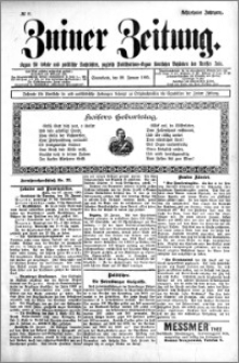 Zniner Zeitung 1905.01.28 R.18 nr 8