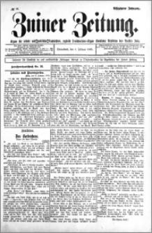 Zniner Zeitung 1905.02.04 R.18 nr 10