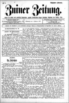 Zniner Zeitung 1905.02.08 R.18 nr 11